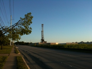 Razor Ranch Gas Well Picture 1
