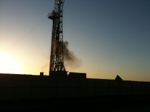 Razor Ranch Gas Well picture